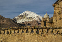 Nevado Sajama Royalty Free Stock Photo