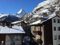Nevado Suiza fotos de archivo libres de regalías