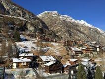 Nevado Suiza fotografía de archivo libre de regalías