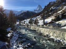 Nevado Suiza foto de archivo