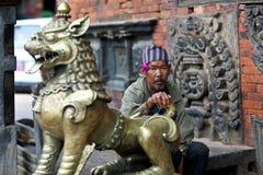Nevaris people, Nepal Royalty Free Stock Image