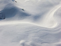 Neve Foto de Stock