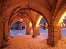 Neve AR di Sassonia Görlitz del Saxon della Germania Deutschland Immagine Stock