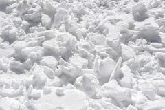 Neve astratta della montagna dell'Himalaya nel ladak, leh India Fotografie Stock Libere da Diritti