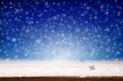 Neve Background Imagens de Stock Royalty Free