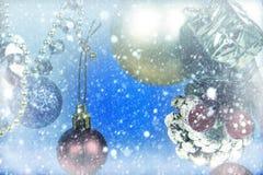 Neve Background E immagini stock