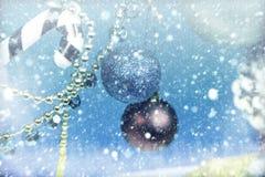 Neve Background E fotografie stock libere da diritti