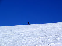 Neve-Bordo immagine stock