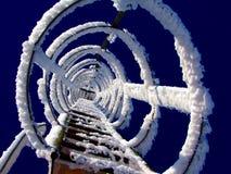 Neve congelata Fotografia Stock Libera da Diritti