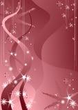 Neve cor-de-rosa ilustração stock
