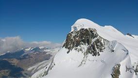 Neve da montanha Fotos de Stock