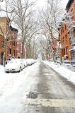 Neve de Brooklyn Fotos de Stock