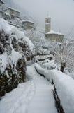 Neve de la estafa de Careno Imagenes de archivo