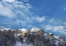 Neve de la estafa de Paese Fotos de archivo libres de regalías