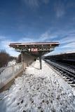 Neve de NYC Imagens de Stock Royalty Free