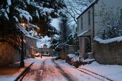 Neve de Oxford Fotos de Stock Royalty Free