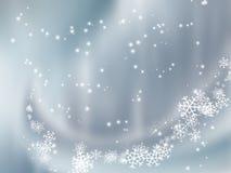 Neve de queda Imagens de Stock