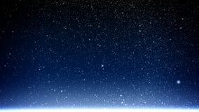 Neve de queda ilustração do vetor
