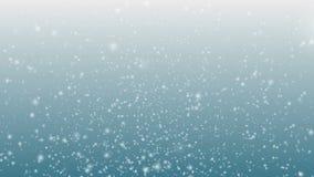 Neve de queda ilustração stock