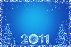 Neve de queda - fundo abstrato do Natal Imagem de Stock Royalty Free