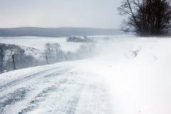Neve de sopro Imagem de Stock