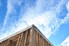 Neve del cielo fotografia stock libera da diritti