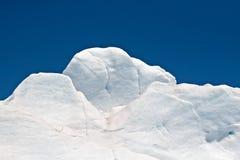 Neve del ghiacciaio Fotografie Stock