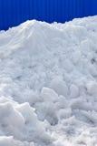 Neve del mucchio Fotografia Stock