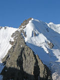 Neve della montagna Fotografia Stock Libera da Diritti