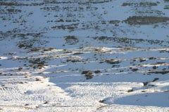 Neve della montagna Fotografia Stock