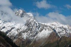Neve delle alpi del sud, Nuova Zelanda Immagini Stock