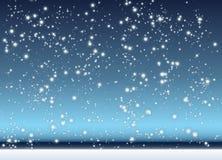 Neve di caduta Fotografia Stock