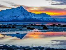 Neve di fusione Fotografia Stock