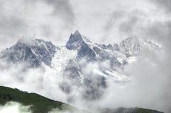 Neve di Gongga Fotografia Stock Libera da Diritti