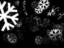 Neve di inverno Immagini Stock Libere da Diritti
