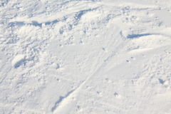 Neve di struttura Immagini Stock