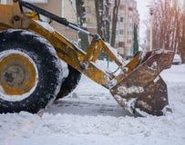 Neve do esclarecimento após uma tempestade Foto de Stock Royalty Free