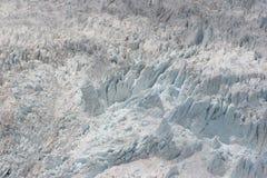 Neve do gelo da geleira Imagem de Stock Royalty Free