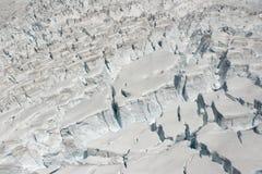 Neve do gelo da geleira Imagens de Stock Royalty Free