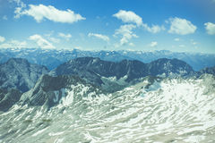 Neve do verão Fotografia de Stock