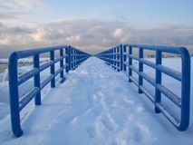 Neve dove Immagine Stock Libera da Diritti