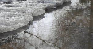 Neve e gelo de derretimento vídeos de arquivo