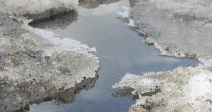 Neve e gelo de derretimento filme