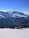 Neve e montagne Fotografie Stock