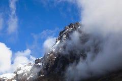 Neve e rocce in vulcano dell'altare di EL Fotografie Stock