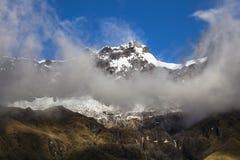Neve e rocce in vulcano dell'altare di EL Fotografia Stock Libera da Diritti
