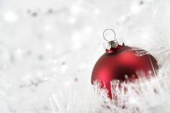 Neve e sparkles Fotografia de Stock Royalty Free