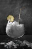 Neve e vidro Imagens de Stock Royalty Free