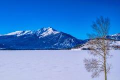 Neve em Breckenridge, Colorado fotografia de stock royalty free