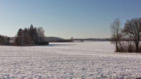Neve em Dinamarca imagens de stock royalty free